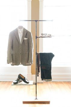 The rack to own: Guys, maybe you should invest in a coat rack of some sort, then you can plan your outfits ;)