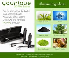 Younique mascara not only looks amazing but it has amazing naturally based products. You will love this! The best part is you can buy worry free because we have a love it guarantee. Love it or return it for a full refund. Click on the image to order yours today. #youniquemascara https://www.youniqueproducts.com/lashestothemax/products/view/US-1017-00#.VLhhMy5jpaY