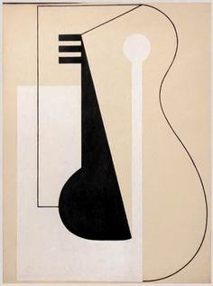 ISAMU NOGUCHI, Paris Abstraction, 1928. Pencil, ink and gouache on paper. / Courtesy of Noguchi Museum. / Noguchi.org