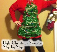 Tacky Sweater Situation – How to Make Your Own!!