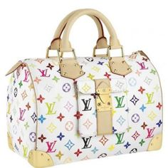 f3b5da5f19e2 Louis Vuitton Speedy 30 M92643 Monogram Multicolore Bag Paris Hilton
