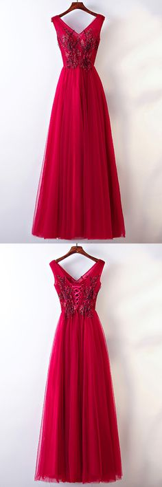 Only $118, Prom Dresses Sleeveless V-neck Long Burgundy Party Dress For Formal #MYX18135 at #GemGrace. View more special Bridal Party Dresses,Prom Dresses now? GemGrace is a solution for those who want to buy delicate gowns with affordable prices. Free shipping, 2018 new arrivals, shop now to get $10 off!