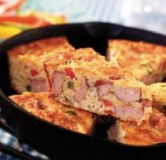 Slap Ya Mama Cajun Cornbread - The site won't let you get to it, but it is self explanatory.  Put andouille, crawfish, peppers, onions, celery, Slap Ya Mama, and I'd probably put a little cheddar cheese, too - all in to your cornbread batter and bake!
