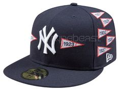 805fc074686 Spike Lee x New Era x New York Yankees - Championship Pennants Fitted Hat  Capture the