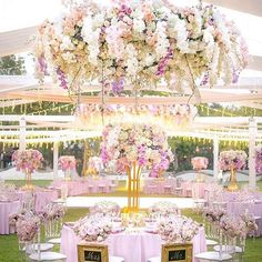 Can you feel the magic from this amazing fairytale wedding reception from @iamflower.co ?! Planner @theweddingblissthailand   Photo @pikpongpol_photography #iamflower