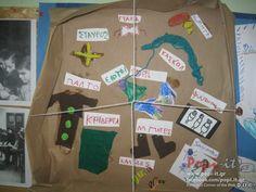 Πίνακας Αλεξανδράκη 1940: Οι ήρωες μας διηγούνται .. Celebrations, October, Nursery, Classroom, Ideas, Class Room, Day Care, Thoughts, Baby Room