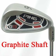 Ping G15 Irons(Graphite Shaft)