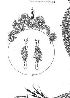 Архив альбомов Lace Earrings, Lace Necklace, Lace Jewelry, Bobbin Lace Patterns, Lacemaking, Crochet Needles, Lace Heart, Needle Lace, Lace Design