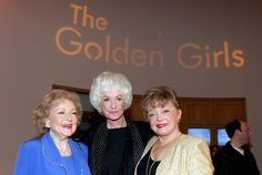 Actresses Betty White, Bea Arthur and Rue McClanahan arrive for the DVD release party for 'The Golden Girls' the first season November . Golden Girls Quotes, Girl Quotes, La Girl, Betty White, Girl Facts, I Love Girls, Classic Tv, Girl Humor, Favorite Tv Shows