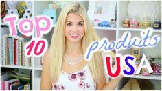ENJOYPHOENIX : [ Favoris n°15 ] : TOP 10 des produits USA & CONCOURS !