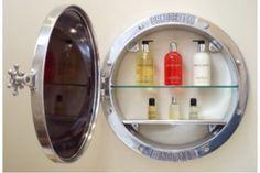 Chadder Porthole Surface Mounted Mirror Cabinet With Polished Finish From  Chadder U0026 Co.