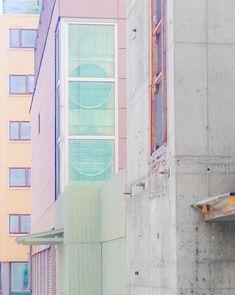 """Oslo's dark back alleys"" via Sight Unseen"