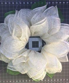 daisy wreath tutorial