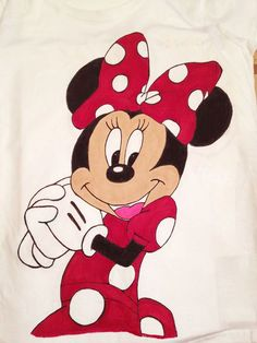 by GreenLightDesignArt on Etsy Love Design, Design Art, Drawstring Pouch, Disney Theme, Women's Summer Fashion, Summer Colors, Minnie Mouse, Hand Painted, Colours