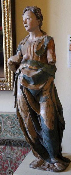 Domenico Beccafumi (Domenico di Jacopo di Pace, detto il Beccafumi) (1486-1551), Annunciazione,  Museo dell'Opera del Duomo, Siena.