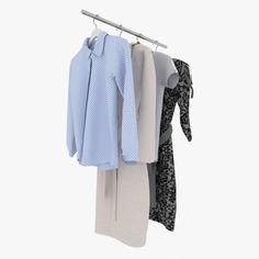 ed1c822f6dd Collection clothes 3D Model .max .c4d .obj .3ds .fbx .lwo