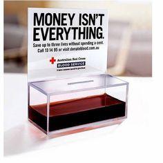 Australian Red Cross Blood Service Ad by M Saatchi Sydney