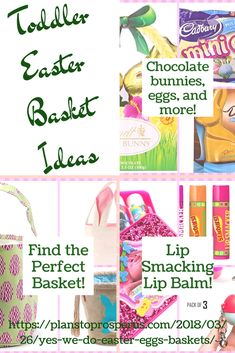 It's not too late to get stuff for your toddler's Easter basket this year! Easter Egg Basket, Easter Eggs, Easter Baskets For Toddlers, Jesus Resurrection, The Balm, Posts, How To Plan, Messages