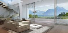 Blick auf die Berge Salzburgs - The Sky - Salzburg, Villa, Best Location, Planer, Wind Turbine, Modern, Divider, Sky, Architecture