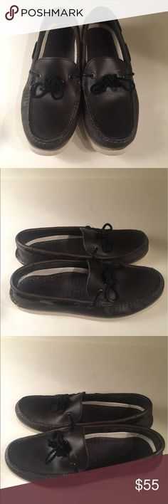 Sperry topsiders brown leather shoes size 8 Sperry Topsiders brown leather shoes size 8. In great condition. Sperry Top-Sider Shoes Boat Shoes