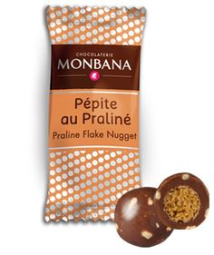 Praline Flakes | Monbana Food Services