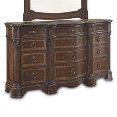 art furniture 187133 2106 capri master dresser bedroom dressersbedroom setsart - Bedroom Dresser Sets
