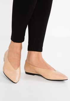 PavementTENNA BOW - Ankle strap ballet pumps - rosa