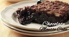 το Chocolate Mousse Cake, Sweets Recipes, Cheesecake, Deserts, Cooking, Food, Cakes, Kitchen, Cake Makers
