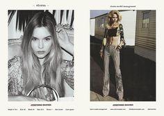 STORM LFW S/S 2014 WOMEN SHOWCARD - Josephine Skriver