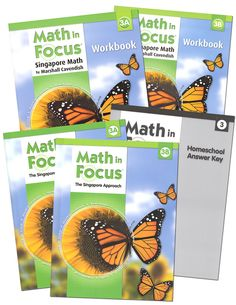 Math in Focus Homeschool Pkg w/ Ans Key Gr 3 | Main photo (Cover).  Very expensive, but a great math program.  Singapore Approach to Math...