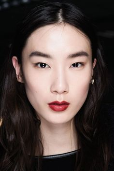 Every single way to wear this season's dark lips trend // 3.1 Phillip Lim Fall 2015