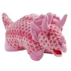 Dinosaur Pillow Pets Large Pink Triceratops Dinosaur