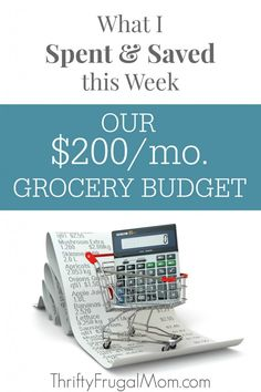 Curious how I make a $200/mo. grocery budget work for our family of 5?  Get all the details of my shopping trips plus learn the tips and tricks that I use to save and live well on a low budget!