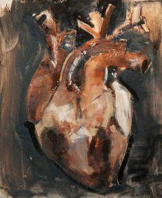 """Saatchi Art Artist Ian Costello; Painting, """"Heart Study"""" #art"""