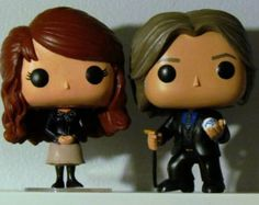 Custom Once Upon a Time Mr. Gold & Belle Funko Pops