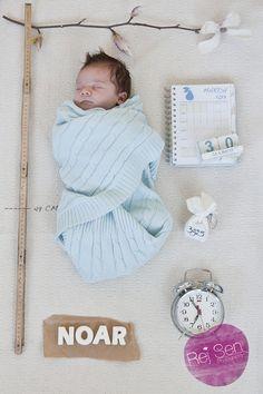 Als Geburtsanzeige
