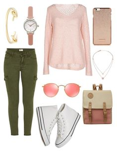"""""""Chilly summer {261}"""" by lilyschaefer on Polyvore featuring Mother, ONLY, Olivia Burton, Sole Society, Michael Kors and Ray-Ban"""