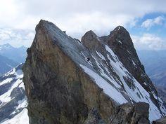 La Meije, Les Ecrins, Hautes-Alpes, France.