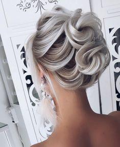 (shiyan_marina) on Somegram Posts Videos & Stories ? Best Wedding Hairstyles, Bride Hairstyles, Weave Hairstyles, Cool Hairstyles, Hairstyle Wedding, Medium Hair Styles, Natural Hair Styles, Short Hair Styles, Peinado Updo