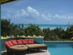 VRBO.com #328823 - Turks & Caicos Pristine Beach Villa -Pool,   Ambiance
