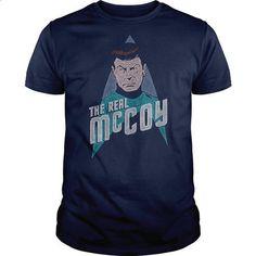 Star Trek Real McCoy - #men dress shirts #vintage t shirt. PURCHASE NOW => https://www.sunfrog.com/TV-Shows/Star-Trek-Real-McCoy.html?60505