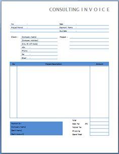 Modelo fatura proforma ou pro forma invoice como for Consulting terms and conditions template