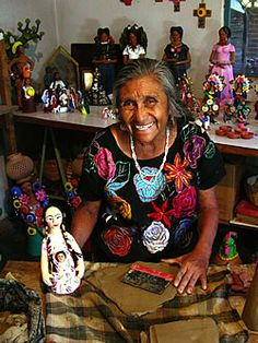 Josefina Aguilar, Mexican folk artist-talented, gorgeous, incredibly wise lady