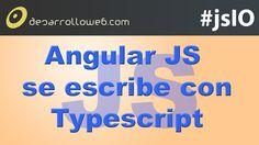 Novedades de AngularJS con relación a la colaboración con Typescript. Aquí tienes el vídeo: http://www.desarrolloweb.com/en-directo/angularjs-con-typescript-javascriptio-8835.html