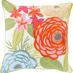 """My """"Bloom"""" pillow design is now available in our online shop!"""