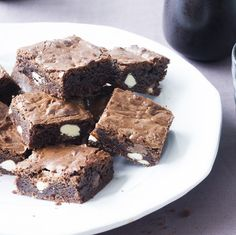 Triple chocolate brownies: http://chelseawinter.co.nz/triple-chocolate-brownies/