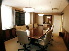Interior Design by Kevin C Hall, Allied ASID - Wall Street Non-profit Office