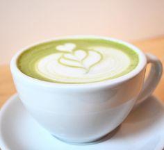 Nothing says good morning like a matcha! Latte Art, Coconut Milk, Matcha, Coffee Shop, Clock, Instagram Posts, Food, Coffee Shops, Watch