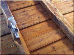 Fagerendás mennyezet - Antik bútor, egyedi natúr fa és loft designbútor, kerti fa termékek, akácfa oszlop, akác rönk, deszka, palló Home, Design, Ad Home, Homes, Design Comics, House