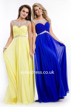 a89cc5247c Shop Super Beaded Neckline V Back Mesh Illusion Prom Dresses Sweep Train  Online affordable for each occasion. Latest design party dresses and gowns  on sale ...